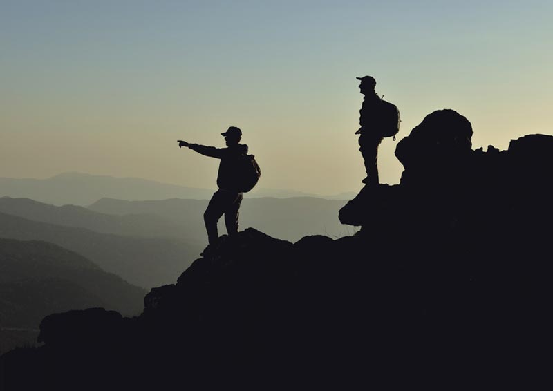 Bergsteigen Coaching