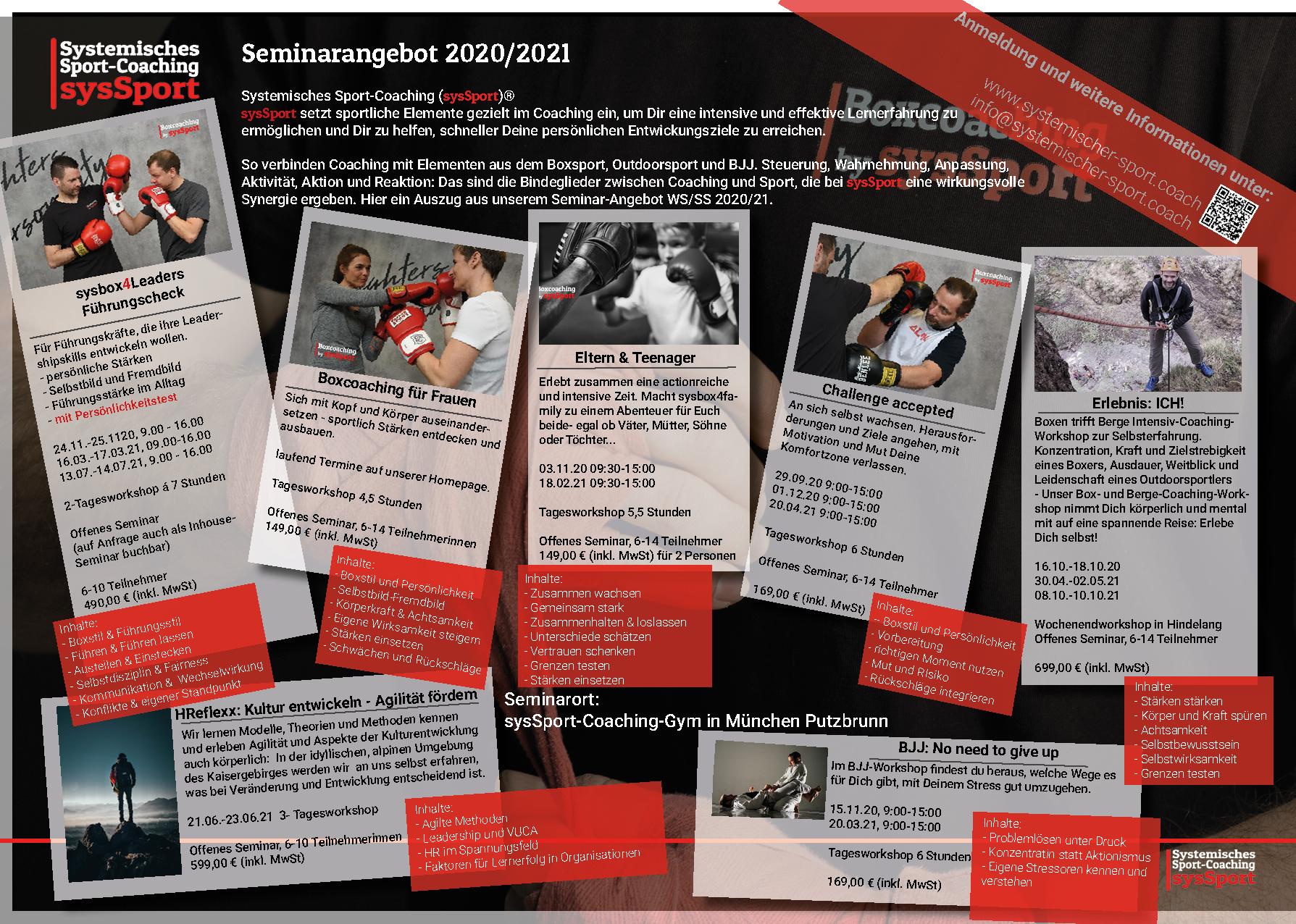 Seminarkalender 2020-2021